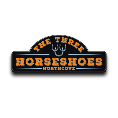 The Three Horseshoes logo